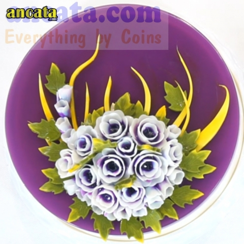05pcs/set 3D Gelatin Jelly Flower Mold Pudding Cake Art Needles Tools - Set Dendrobium flower Dendrobium flowers are loved by many people because of their natural beauty, diverse forms and meanings as a symbol of luck, success and wealth.  Not only tha