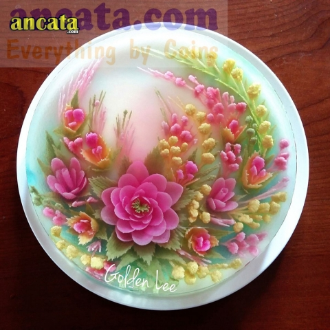 Set of needle made 3d flower jelly - Apricot blossom set ♤♤♤♤♤ Very easy to use,design with well packaged,this set of the art cake tools can make a great fun when you use it,it can help you creative different flower pattern for your Jelly cake,make of th