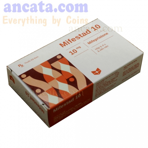 Mifestad 10 STADA PLAN B EMERGENCY CONTRACEPTIVE 120 HOURS AFTER INTERCOURSE- FREE SHIP