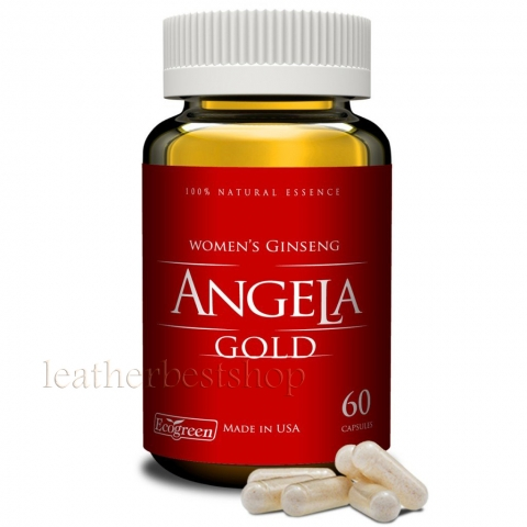 ANGELA GOLD Ginseng - Sexual Health Women Estrogen, Progesterone, Made in USA