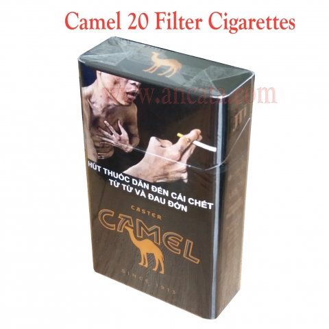 Set 8 Packs Camel 20 Filter Cigarettes
