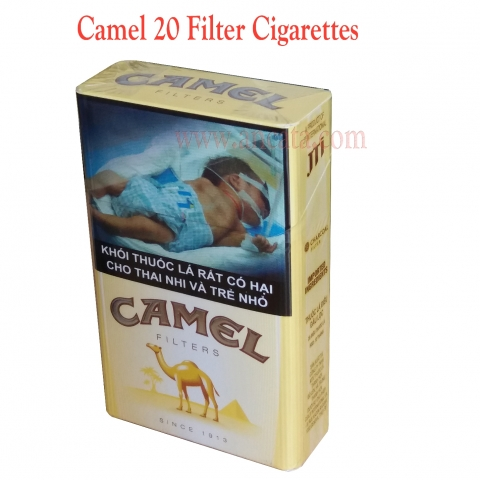 8 packs Caster Camel 20 Filter Cigarettes