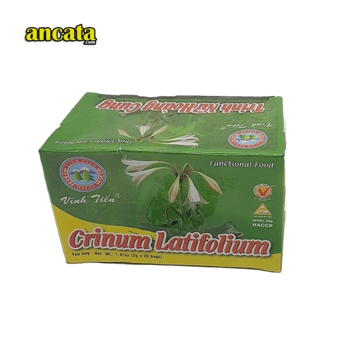 Crinum Latifolium Tea bags 40gr - Included VAT $ Free Ship