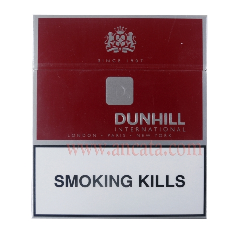8 Packs Red Dunhill International London - Paris - New York