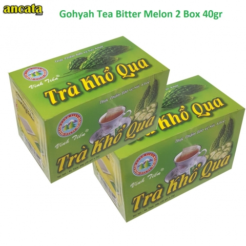 Gohyah Tea Bitter Melon box 40gr Free ship and VAT