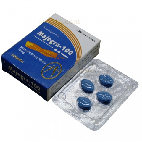Majegra 100mg - Male Enhancement Pills Sexsual Potency Libido Erection Sex Orgasm Penis - Free Ship