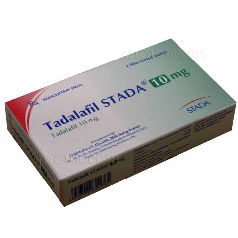 Tadalafil STADA 10mg - Male Enhancement Pills Sexsual Potency Libido Erection Sex Orgasm Penis - Free Ship