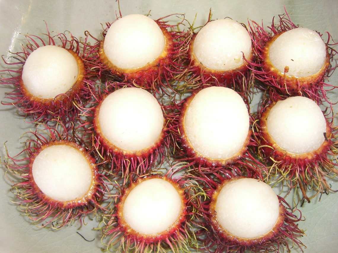 Top 10 Unusual Exotic Fruits From VietNam Asia You Must Try – Rambutan